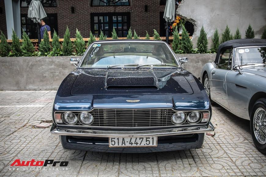 Xế cổ Aston Martin DBS 50 tuổi trông như mới của dân chơi Sài thành - Ảnh 1.