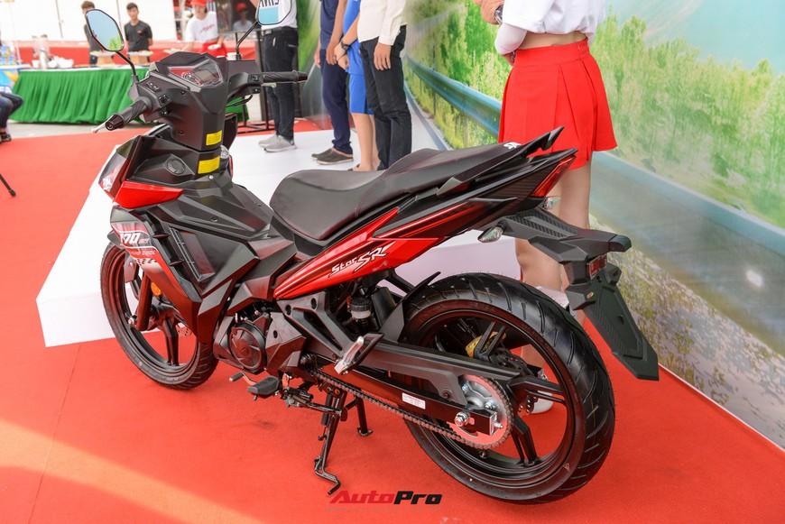 Chi tiết xe côn tay SYM Star SR 170 - Bài toán dễ giải của Yamaha Exciter và Honda Winner tại Việt Nam - Ảnh 5.