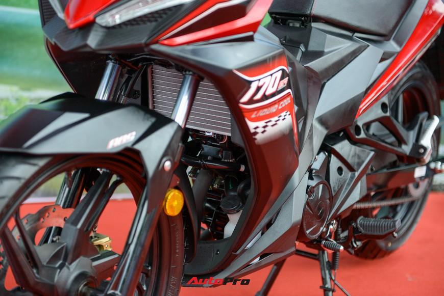 Chi tiết xe côn tay SYM Star SR 170 - Bài toán dễ giải của Yamaha Exciter và Honda Winner tại Việt Nam - Ảnh 4.