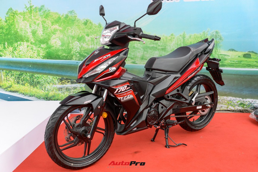 Chi tiết xe côn tay SYM Star SR 170 - Bài toán dễ giải của Yamaha Exciter và Honda Winner tại Việt Nam - Ảnh 2.
