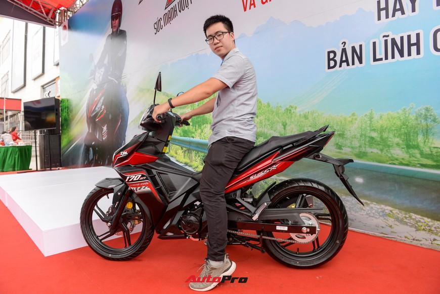 Chi tiết xe côn tay SYM Star SR 170 - Bài toán dễ giải của Yamaha Exciter và Honda Winner tại Việt Nam - Ảnh 6.