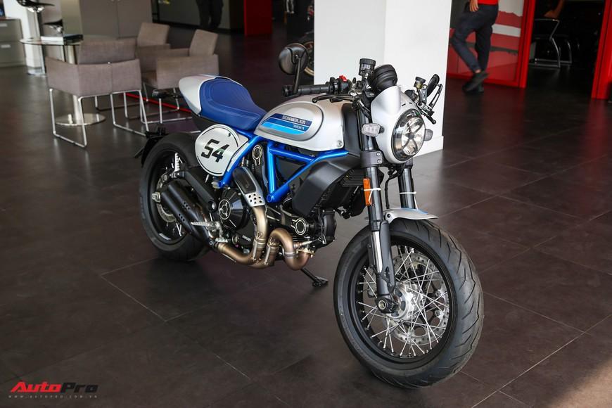 Ducati Scrambler Cafe Racer 2019 giá hơn 410 triệu đồng đầu tiên về Việt Nam - Ảnh 1.