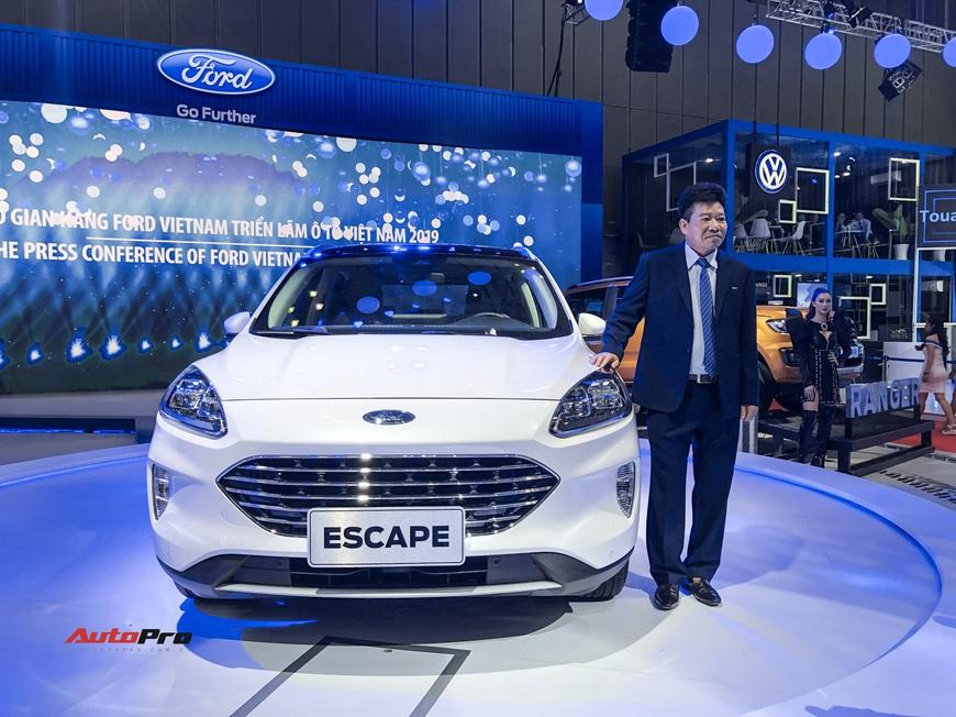 Ford Escape trình diện Việt Nam - Phép thử mới với Honda CR-V và Mazda CX-5 - Ảnh 1.