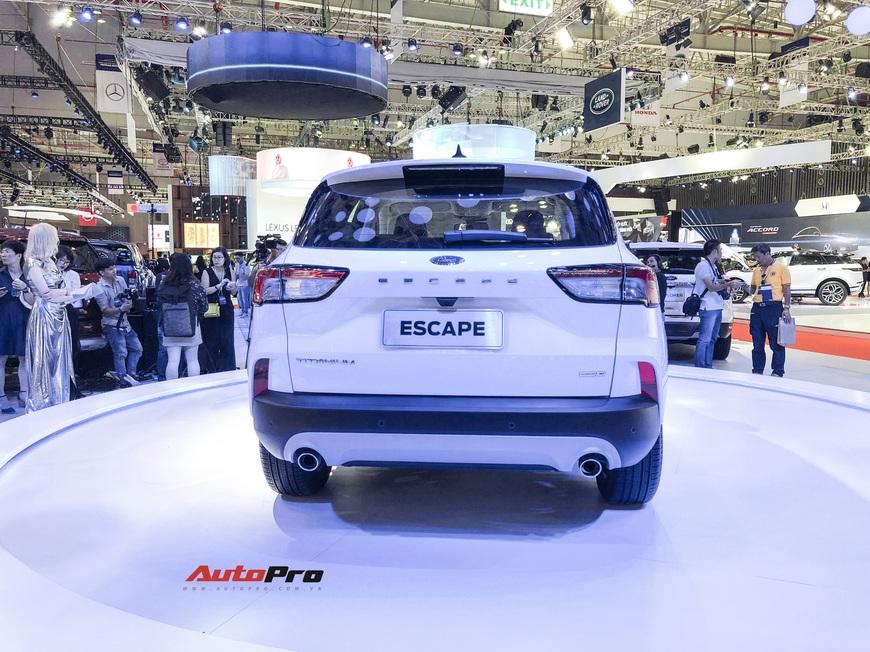 Ford Escape trình diện Việt Nam - Phép thử mới với Honda CR-V và Mazda CX-5 - Ảnh 4.