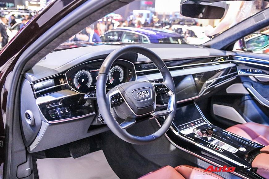 Tìm hiểu nhanh Audi A8L mới về Việt Nam - Quyết đấu BMW 7-Series và Mercedes-Benz S-Class - Ảnh 9.