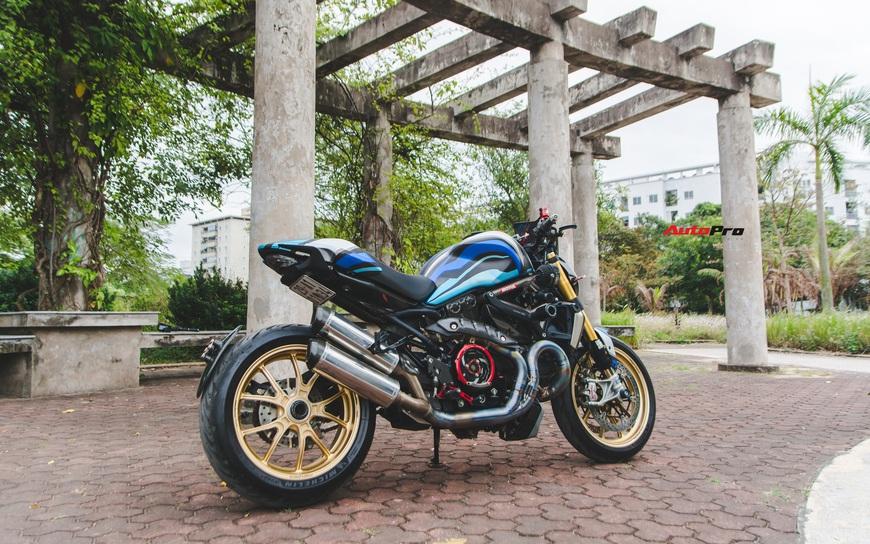 Đánh giá nhanh Ducati Monster 1200S tiền tỷ sau 4 năm sử dụng: Chạy như mới nhưng tiền độ và tiền nuôi xe gây bất ngờ - Ảnh 3.