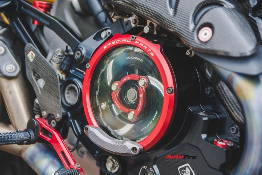Đánh giá nhanh Ducati Monster 1200S tiền tỷ sau 4 năm sử dụng: Chạy như mới nhưng tiền độ và tiền nuôi xe gây bất ngờ - Ảnh 9.