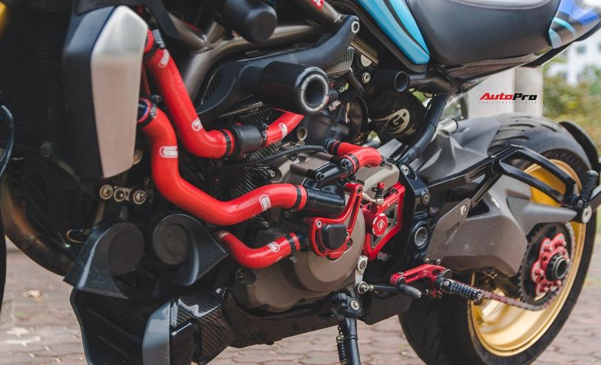 Đánh giá nhanh Ducati Monster 1200S tiền tỷ sau 4 năm sử dụng: Chạy như mới nhưng tiền độ và tiền nuôi xe gây bất ngờ - Ảnh 7.