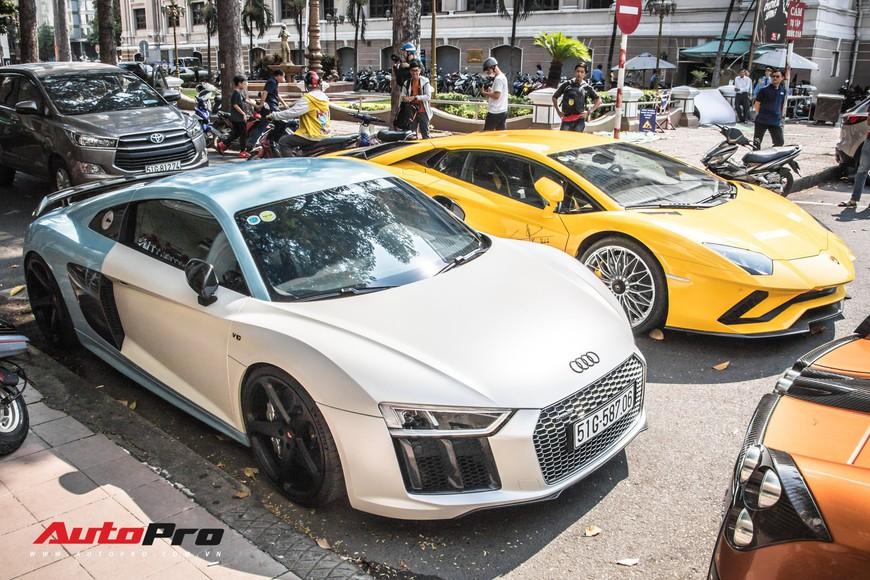 Đại gia Sài Gòn mang dàn siêu xe hàng trăm tỷ lên phố ngay sát Tết, Pagani Huayra và Acura NSX hàng độc xuất hiện - Ảnh 7.