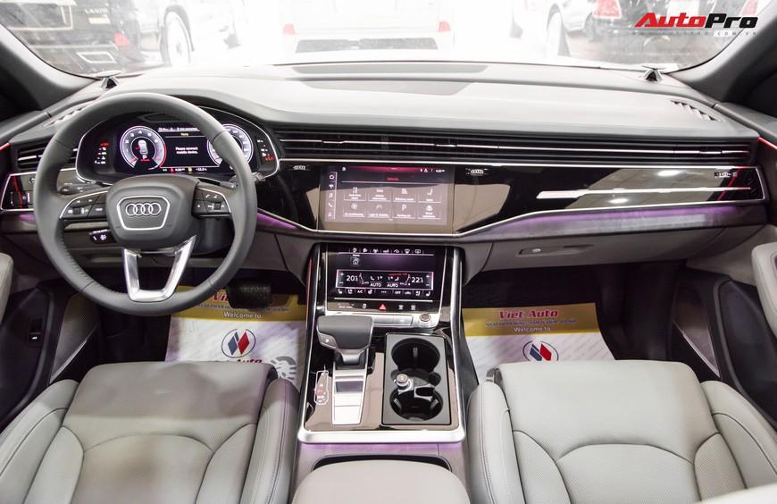 Mục sở thị Audi Q8 2019 đầu tiên Việt Nam, nổi bật với dàn loa hơn 100 triệu đồng - Ảnh 4.