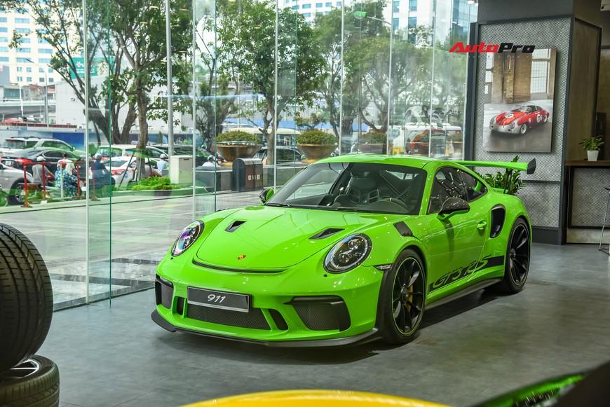 Bóc tách gói trang bị 1,7 tỷ đồng trên Porsche 911 GT3 RS Lizard Green độc nhất Việt Nam - Ảnh 9.