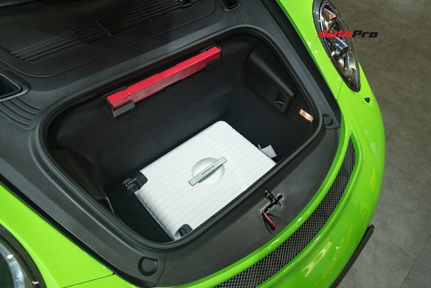 Bóc tách gói trang bị 1,7 tỷ đồng trên Porsche 911 GT3 RS Lizard Green độc nhất Việt Nam - Ảnh 17.