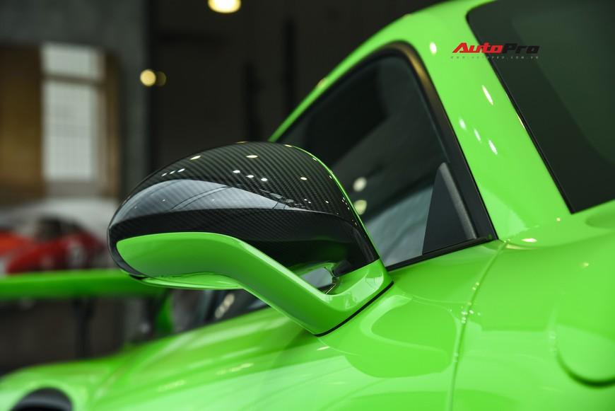Bóc tách gói trang bị 1,7 tỷ đồng trên Porsche 911 GT3 RS Lizard Green độc nhất Việt Nam - Ảnh 5.