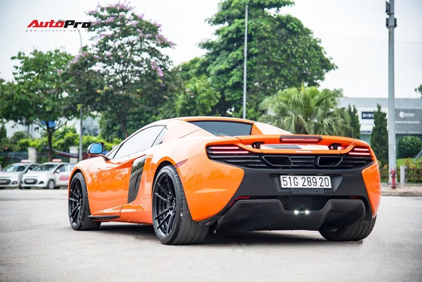 McLaren 650S chạy lướt chào mua các đại gia Hà Nội với giá hời, rẻ bằng nửa giá trị mua mới - Ảnh 4.