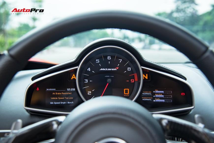 McLaren 650S chạy lướt chào mua các đại gia Hà Nội với giá hời, rẻ bằng nửa giá trị mua mới - Ảnh 9.