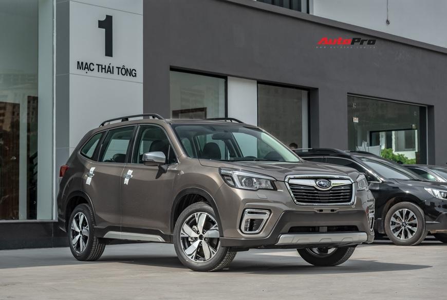 Đánh giá nhanh Subaru Forester 2019: Le lói cơ hội trước Honda CR-V và Mazda CX-5 - Ảnh 19.