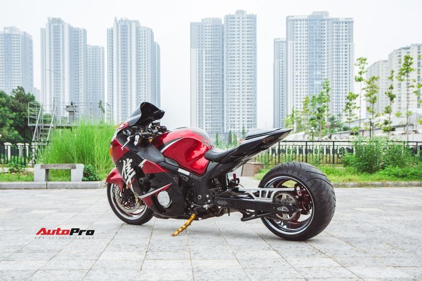 Khám phá Thần Gió Suzuki Hayabusa độ gắp kéo dài duy nhất tại Hà Nội cùng lời chia sẻ của chủ nhân sau hơn 1 năm sử dụng - Ảnh 5.