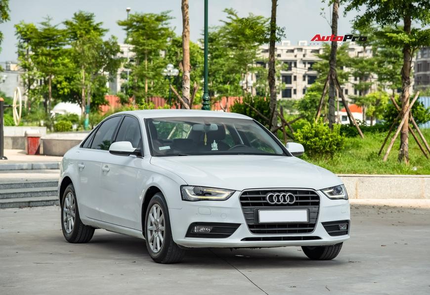 Cảm nhận nhanh Audi A4 giá hơn 800 triệu: Còn lại gì sau 60.000 km? - Ảnh 12.