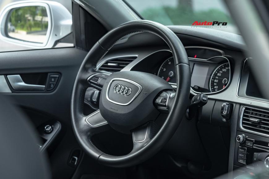 Cảm nhận nhanh Audi A4 giá hơn 800 triệu: Còn lại gì sau 60.000 km? - Ảnh 8.