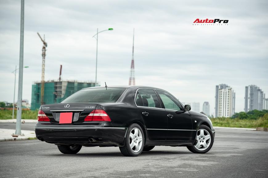 Lexus LS430 13 năm tuổi: Thừa sang trọng dù giá chỉ 650 triệu đồng - Ảnh 5.