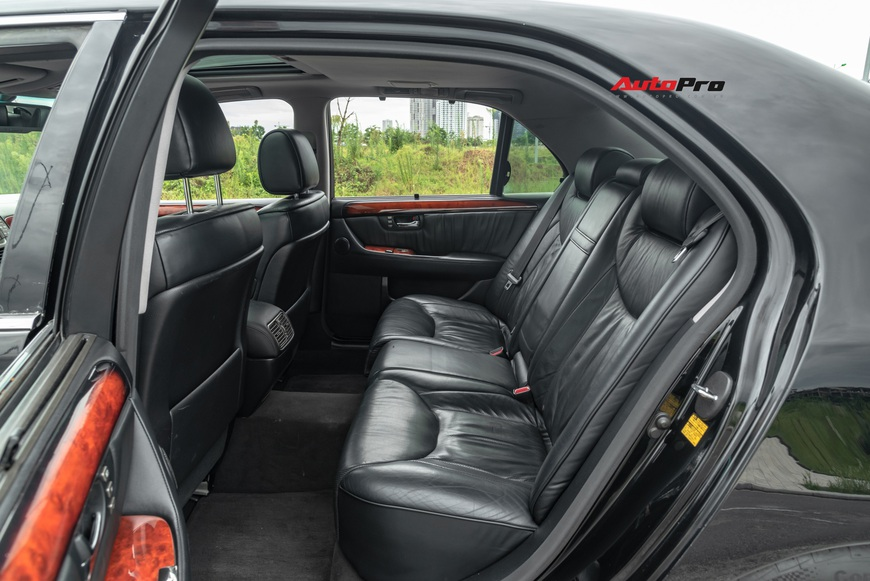 Lexus LS430 13 năm tuổi: Thừa sang trọng dù giá chỉ 650 triệu đồng - Ảnh 14.