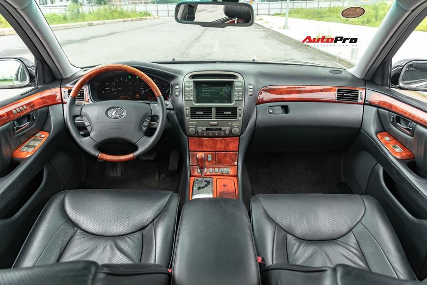 Lexus LS430 13 năm tuổi: Thừa sang trọng dù giá chỉ 650 triệu đồng - Ảnh 6.