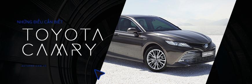 Đánh giá nhanh Toyota Camry 2019: Áp lực lớn của Mazda6 và Honda Accord - Ảnh 15.