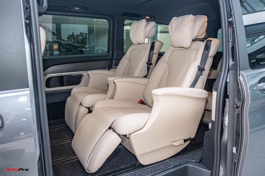 Đánh giá nhanh Mercedes-Benz V 250 AMG: Hơn 3 tỷ đổi đẳng cấp thương gia cho người Việt - Ảnh 12.