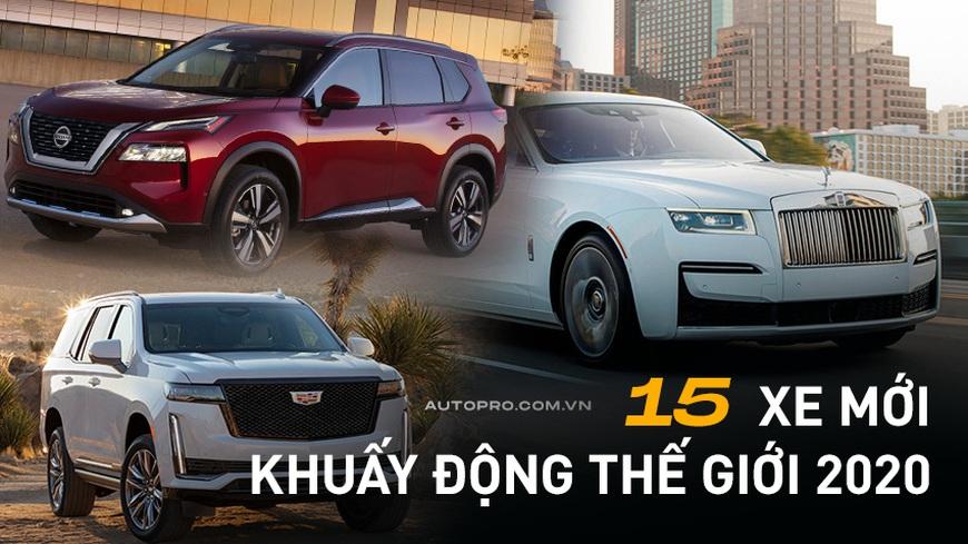 2020 qua đi nhưng bạn sẽ không thể quên 15 mẫu xe hút view này: Nhiều cái tên cũng đang hot ở Việt Nam