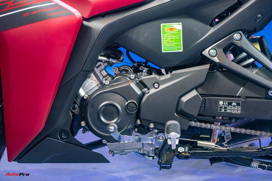 Chi tiết Yamaha Exciter 155 VVA tại Việt Nam: Ngoài động cơ mạnh còn nhiều trang bị mới, công nghệ thừa hưởng từ phân khối lớn YZF-R1 - Ảnh 12.