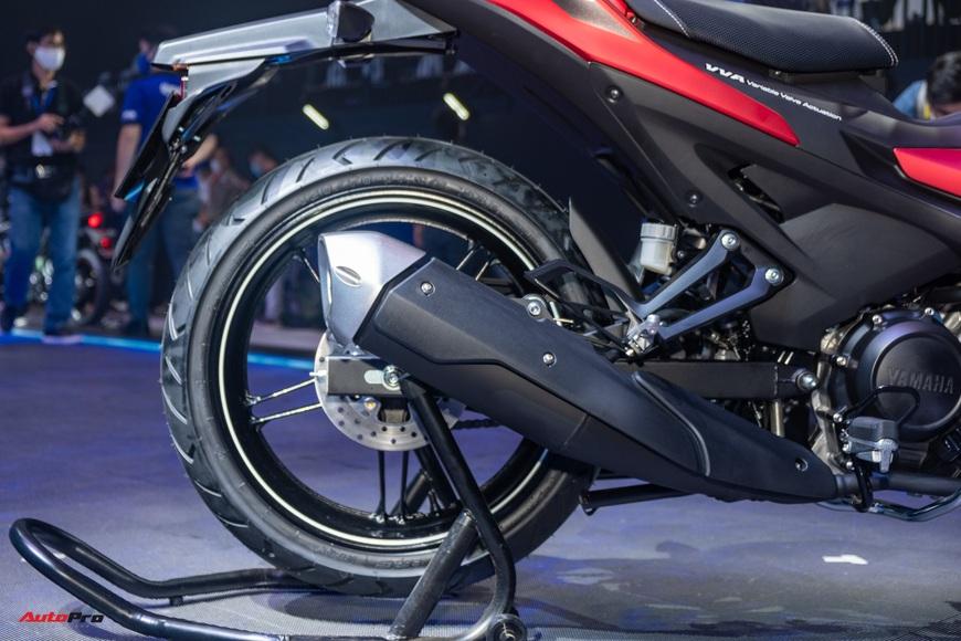 Chi tiết Yamaha Exciter 155 VVA tại Việt Nam: Ngoài động cơ mạnh còn nhiều trang bị mới, công nghệ thừa hưởng từ phân khối lớn YZF-R1 - Ảnh 8.