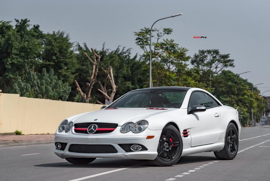 Cảm nhận nhanh xe nhà giàu Mercedes-Benz SL 550 sau 13 năm tuổi: mua gần 400 mã lực với giá Toyota Camry - Ảnh 12.