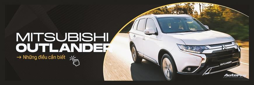 Đánh giá Mitsubishi Outlander 'full option': Đấu Honda CR-V bằng cách dung hoà thực dụng và vận hành - Ảnh 13.