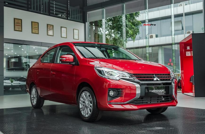Bóc tách 12 điểm mới trên Attrage 2020: Cuộc tất tay của Mitsubishi trong phân khúc B, giá hạng A - Ảnh 13.