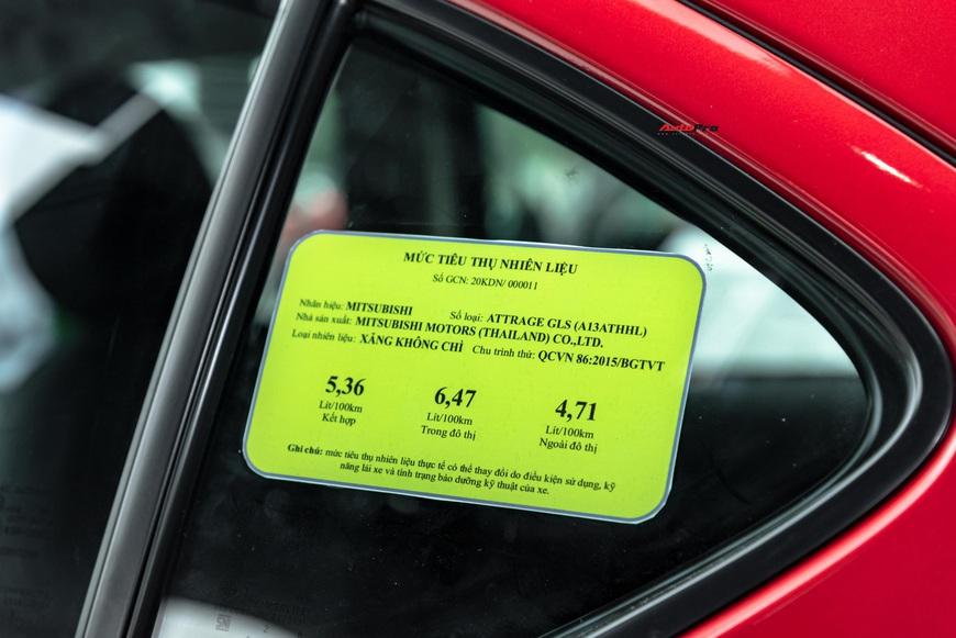 Bóc tách 12 điểm mới trên Attrage 2020: Cuộc tất tay của Mitsubishi trong phân khúc B, giá hạng A - Ảnh 18.