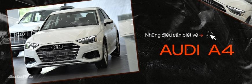 Audi A4 2020 ra mắt Việt Nam: Dùng tiện nghi đáp trả Mercedes-Benz C-Class và BMW 3-Series - Ảnh 9.