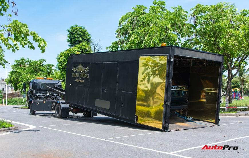 Bên trong xe vận chuyển xế khủng cho giới đại gia Hà Nội: Như container hạng sang, độ hết 3 tỷ đồng, có bầu trời sao kiểu Rolls-Royce - Ảnh 6.