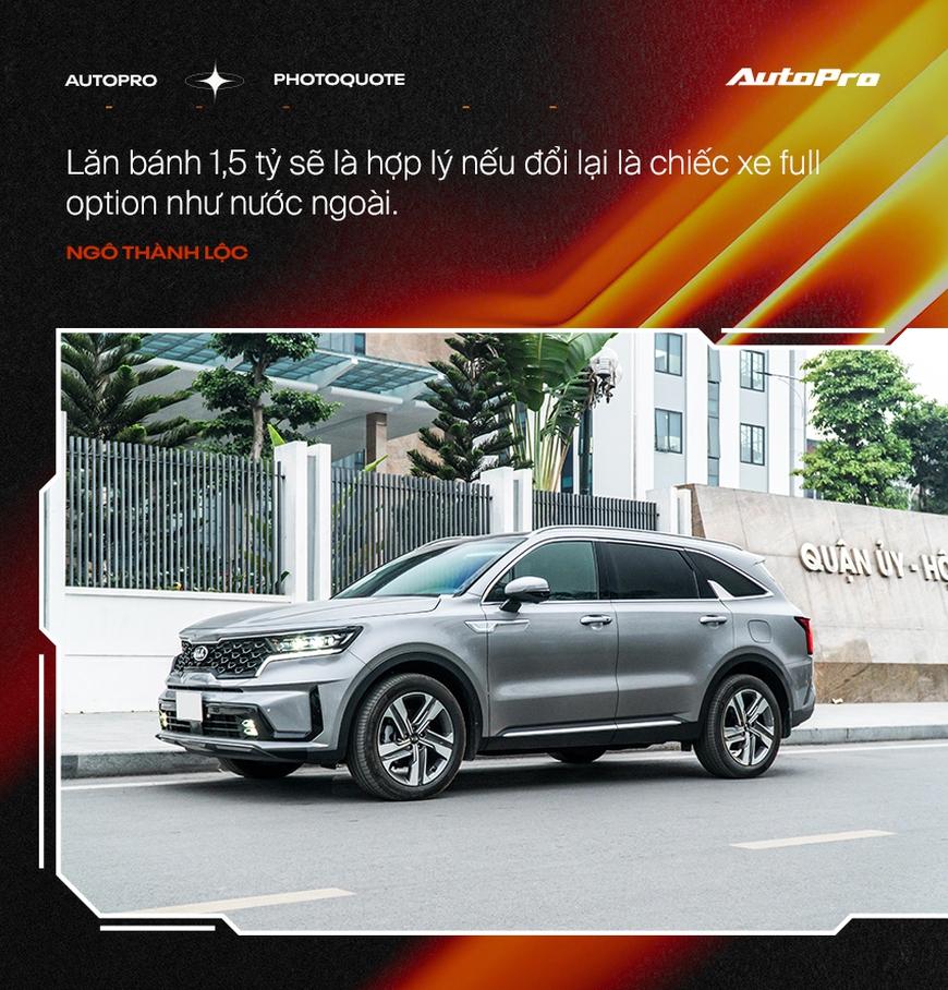 Người dùng đánh giá Kia Sorento 2021: Có cái hơn Range Rover, tiết kiệm hơn Fadil nhưng còn nhiều 'cái gai' cần khắc phục - Ảnh 2.