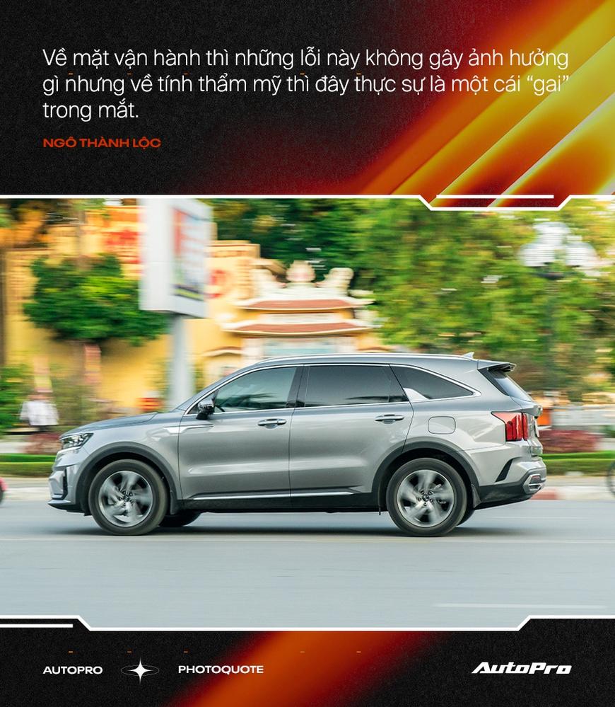 Người dùng đánh giá Kia Sorento 2021: Có cái hơn Range Rover, tiết kiệm hơn Fadil nhưng còn nhiều 'cái gai' cần khắc phục - Ảnh 7.