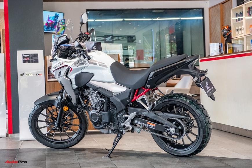Lô Honda CB500X 2021 đầu tiên về đại lý Việt Nam - Mô tô đường dài giá 188 triệu đồng cho người mới chơi - Ảnh 9.