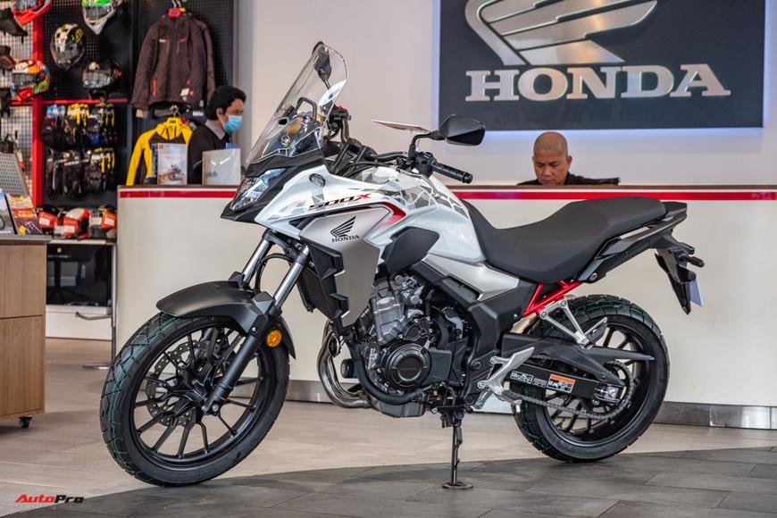 Lô Honda CB500X 2021 đầu tiên về đại lý Việt Nam - Mô tô đường dài giá 188 triệu đồng cho người mới chơi