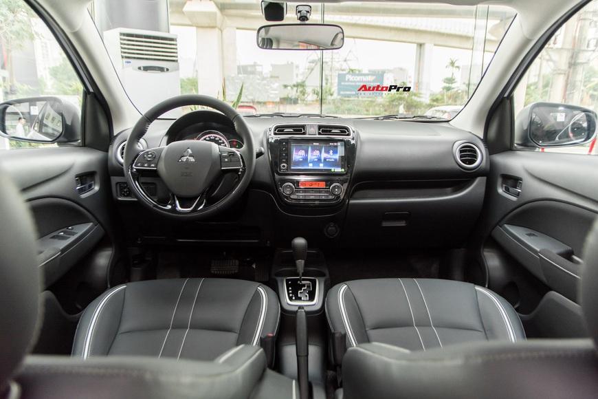 Đánh giá nhanh Mitsubishi Attrage 2021 vừa về đại lý: Dọa Vios bằng option và giá mềm - Ảnh 5.