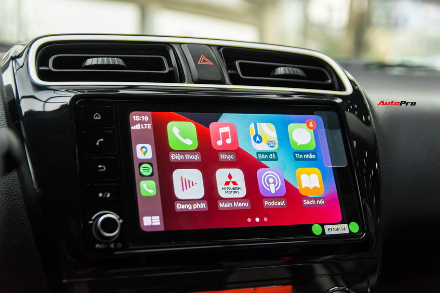 Đánh giá nhanh Mitsubishi Attrage 2021 vừa về đại lý: Dọa Vios bằng option và giá mềm - Ảnh 8.