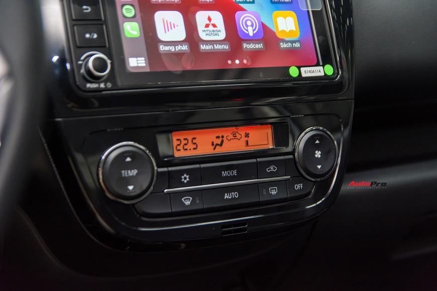Đánh giá nhanh Mitsubishi Attrage 2021 vừa về đại lý: Dọa Vios bằng option và giá mềm - Ảnh 9.