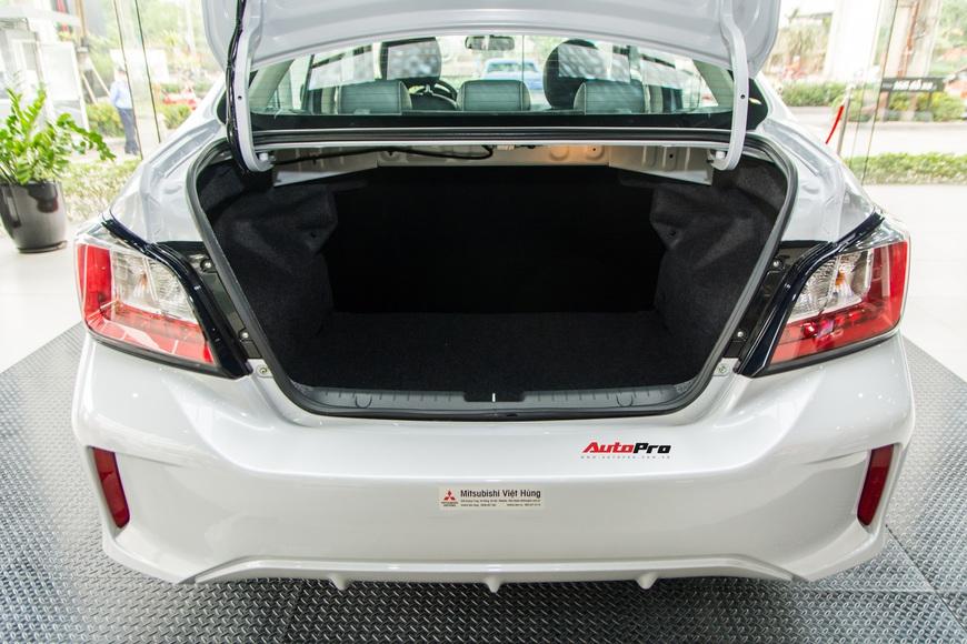 Đánh giá nhanh Mitsubishi Attrage 2021 vừa về đại lý: Dọa Vios bằng option và giá mềm - Ảnh 11.