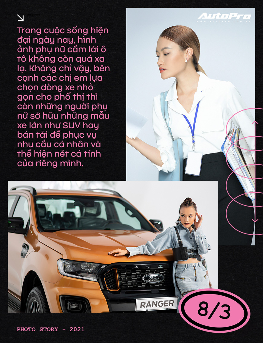 Phụ nữ ngày càng dễ phải lòng xe bán tải