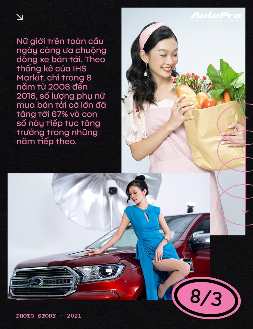Phụ nữ ngày càng dễ phải lòng xe bán tải - Ảnh 2.