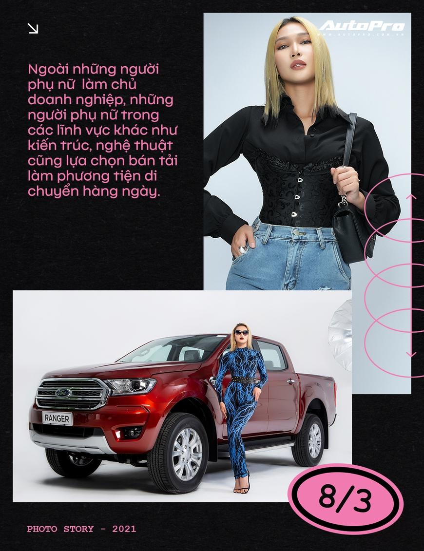 Phụ nữ ngày càng dễ phải lòng xe bán tải - Ảnh 3.