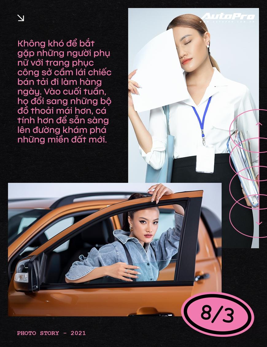Phụ nữ ngày càng dễ phải lòng xe bán tải - Ảnh 4.