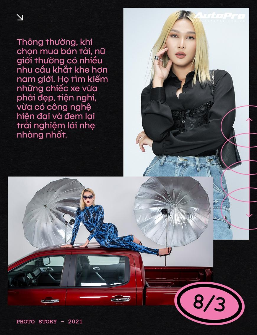 Phụ nữ ngày càng dễ phải lòng xe bán tải - Ảnh 5.
